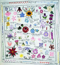 AG 4198 Down The Garden Path Sampler