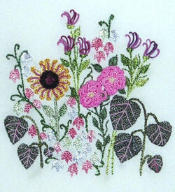 Boston Ivy Brazilian Embroidery Pattern