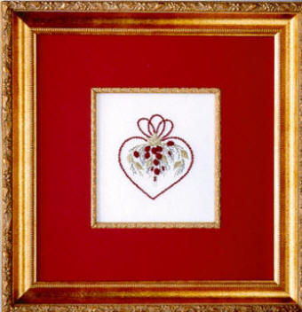 Brazilian Embroidery From Blackberry Lane HEARTS andROSES By Delma Moore  BL 122