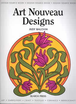 Art Nouveau Designs - line drawings for embroidery