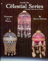 Celestial Series: Beaded Ornament Covers Accent Bead - Karen DeSousa