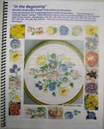 "Dimensional Embroidery book ""In The Beginning"" with color Directions"