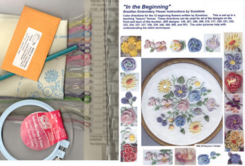 Brazilian Embroidery Starter Kit