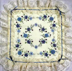 Brazilian Embroidery Pattern - Square Dance -JDR 134