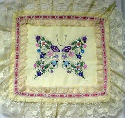 JDR 142 Butterfly In Bloom Brazilian Embroidery Design