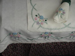 Brazilian Embroidery Table Linens