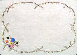 Brazilian Embroidery Placemats JDR 161