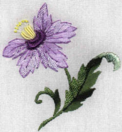 Brazilian Embroidery Design - Imperial Lily