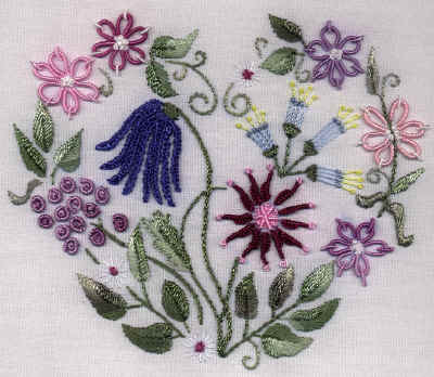 JDR 180 My Heart Is Full Brazilian Embroidery Pattern