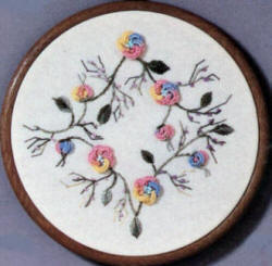 Brazilian Embroidery Pattern Cast-On Flower JDR 339