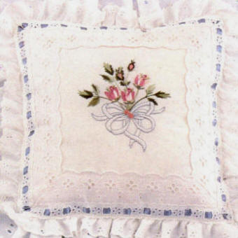Brazilian Embroidery Pattern: Roses For Love
