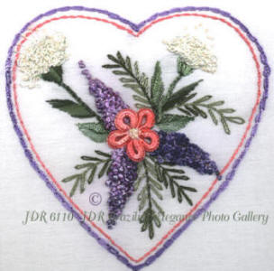 JDR 6110 Heart Full of Lilacs and Ferns