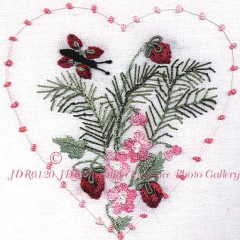 JDR 6120 Heart of Fern & Wild Strawberries