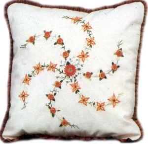 Brazilian Embroidery Patterns Daisy Wheel