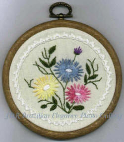Sunshines Treasures #3  Brazilian Embroidery Design