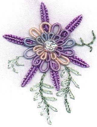 Sunshine's Treasures Brazilian Dimensional Embroidery Pattern ST 19