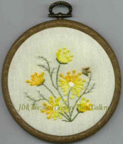 Sunshines Treasures #4 Brazilian Embroidery Design