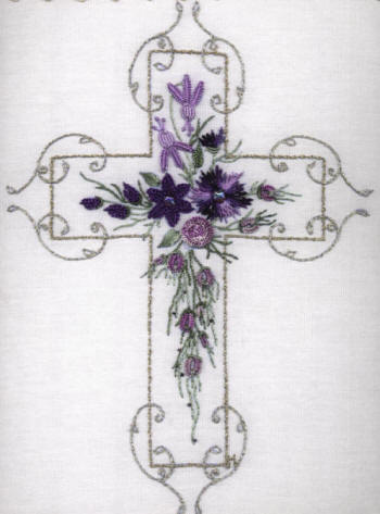 Brazilian Embroidery Design The Cross of Hope JDR 6014