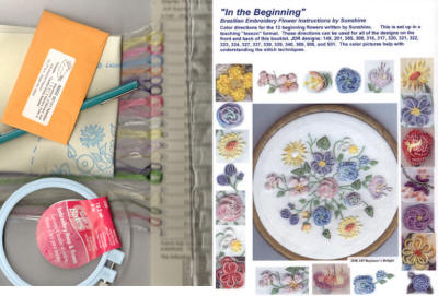 Brazilian Dimensional Embroidery Starter Kit