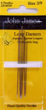 John James Long Darner # 3/9 6 pack