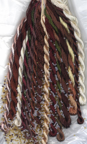 EdMar Thread Packet In Brown Tones